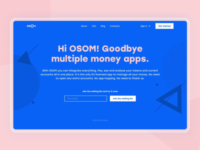 Osom – Your digital wallet