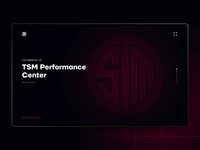 Team SoloMid — the House of the Game futuristic black red design website ui webgl 3d team gaming