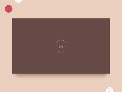 Kith & Kin branding logo design illustration website bachoodesign