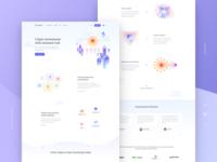 Capitalium — Homepage Design