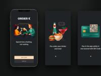 Pre-ordering app: OrderX