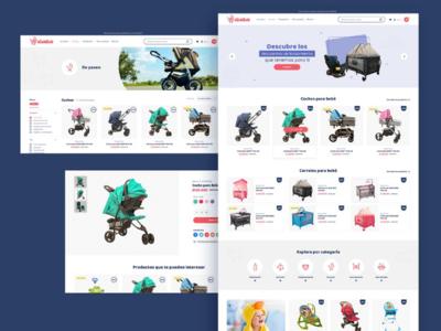 Sitio ecommerce responsive web interface uidesign ui ecommerce