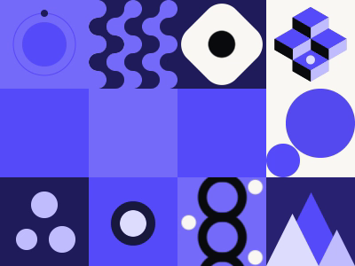 Pattern and Motion exploration loop purple animation pattern motion
