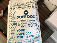 Dope Dog poly mailers.
