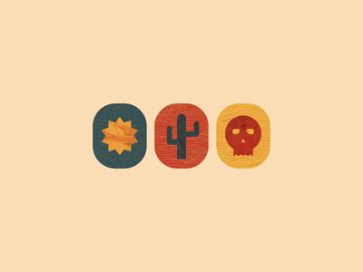 Sun|Cactus|Skull