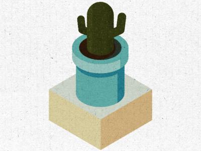 Isometric cactus