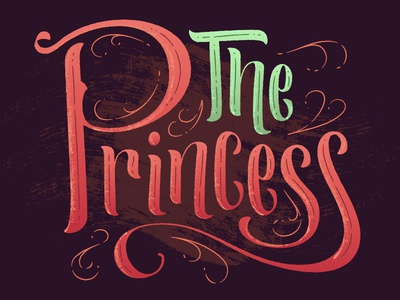 ...is in another castle. lettering script type texture cutesy girly hand lettering