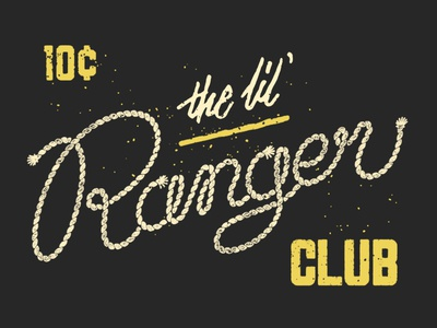 The Lil' Ranger Club