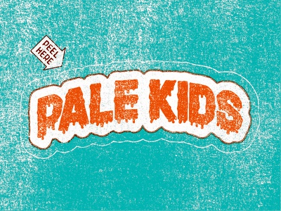 SPF 100 type lettering grit grime texture 80s geeky pale kids hand type hand lettering go outside