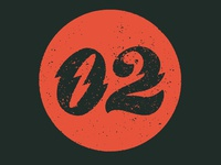 02 numeral lettering type