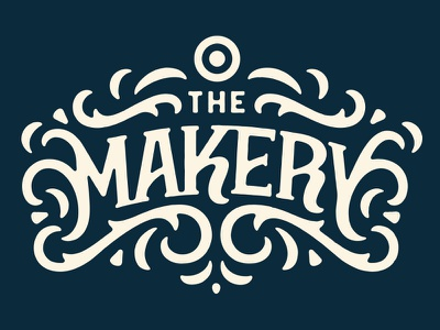 The Makery typography type lettering