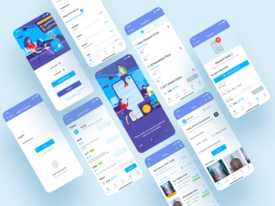 Travel app illustration concept ui mobile app ui ux dribbble app shot