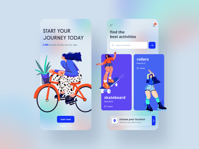 Sport Equipment app mobile ui mobile app design illustration dribbble mobile shot ui concept mobile app ui ux app