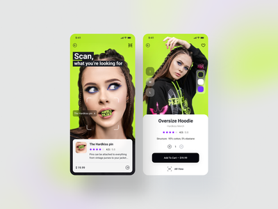 Product pages concept mobile ui design shot concept ui mobile app dribbble ui ux app