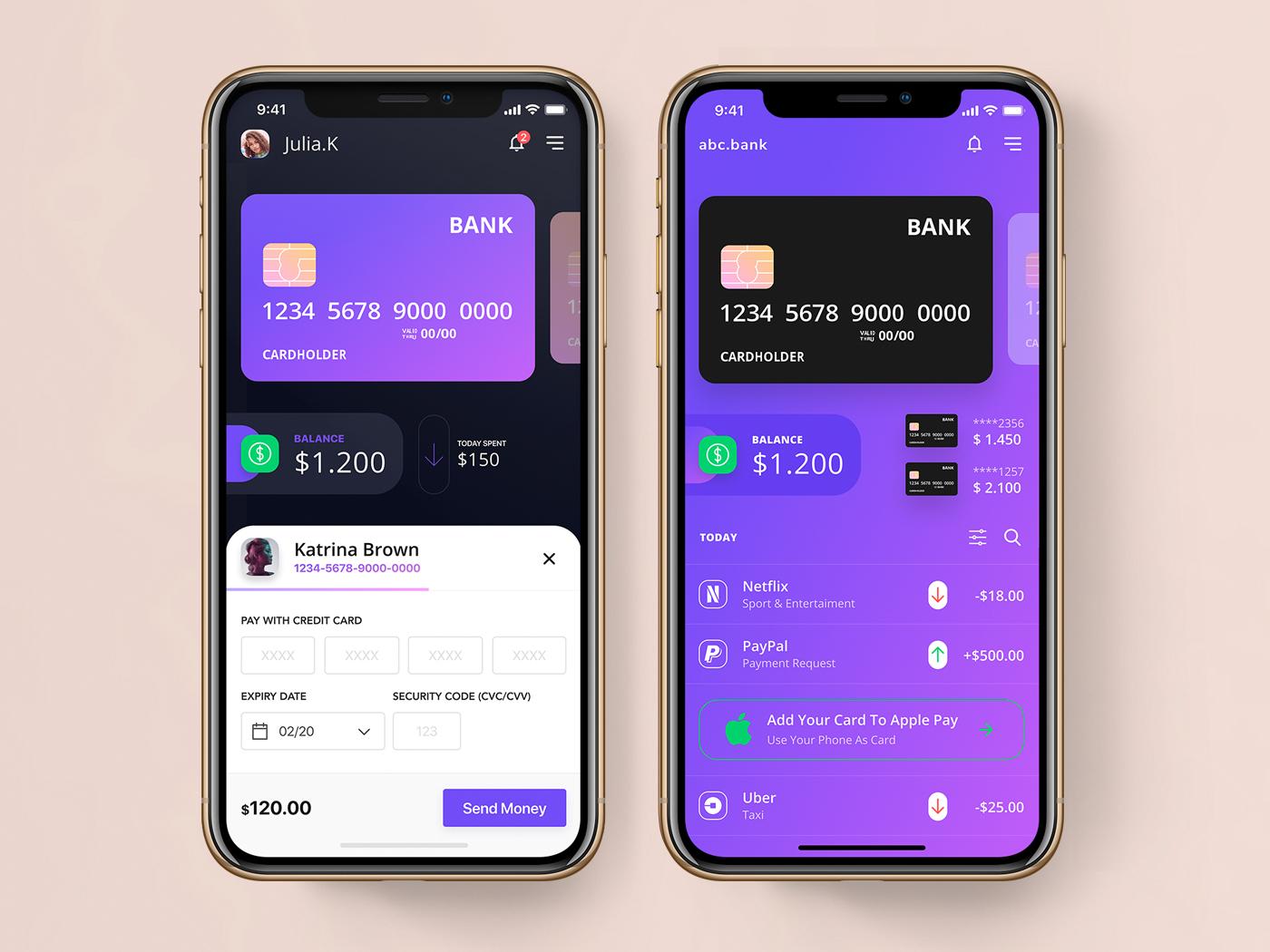 Mobile Banking app web design mobile mobile app product design