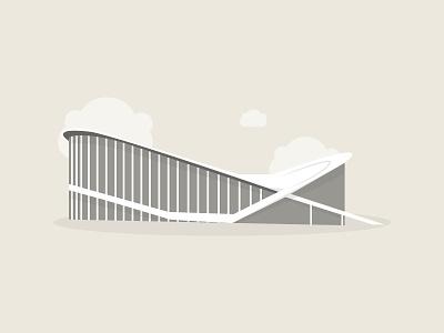 Dorton Arena, Raleigh, NC social post social media arena illustration building icon building illustration arena illustrator design illustration building dorton arena north carolina