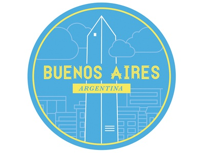 Buenos Aires Illustration