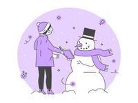Snow Day ❄️ 💜 📖