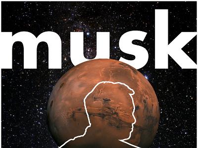 Elon Musk Aspire Poster poster design poster elon musk
