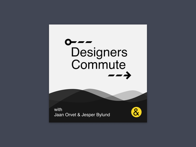 Designers Commute Podcast Cover 3 podcast art podcast