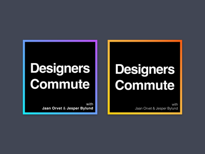Designers Commute Podcast Cover 2