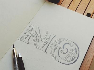 Smile sketch hand-lettering lettering