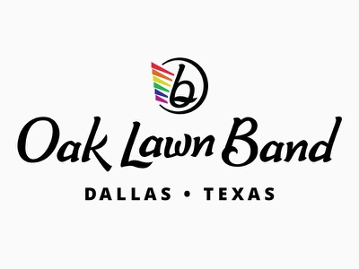 Oak Lawn Band love wins lgbt band music hand-lettering lettering logo
