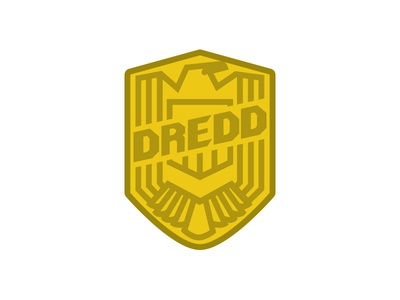 DREDD badge