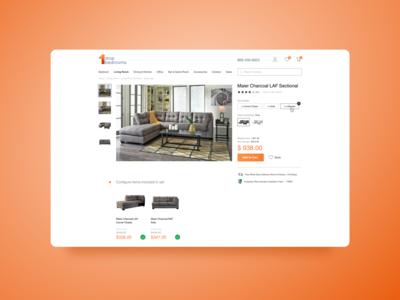 Daily UI #012 E-Commerce Shop shop ecommerce web design ui dailyui