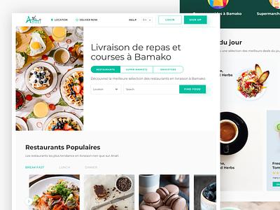 FOOD DELIVERY food app uiux ui web delivery food