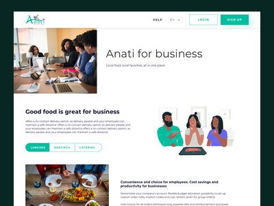Anati for business