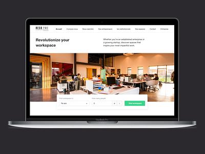 Find your workspace workspace app