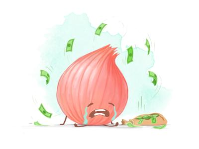 No Refund Cash error sad watercolour vector simple illustration exploration design character app 2d