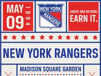 Rangers Sports Ticket