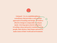 About Calypsol + Co