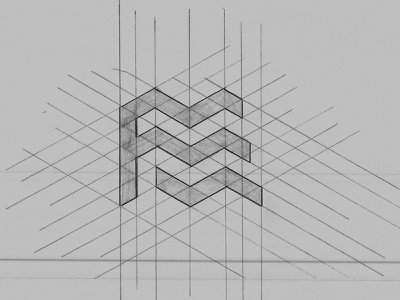 Personal monogram monogram design monogram logo monogram pencil design logo typography letters type lettering