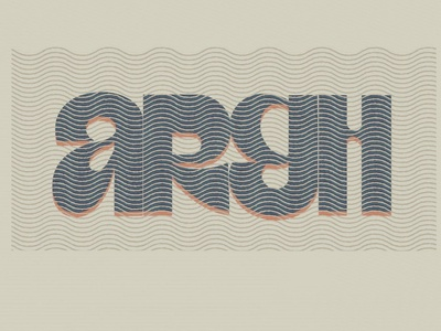 ARGH design logo letter typography letters type practice lettering