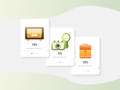 Coupons Card | Icon Explore