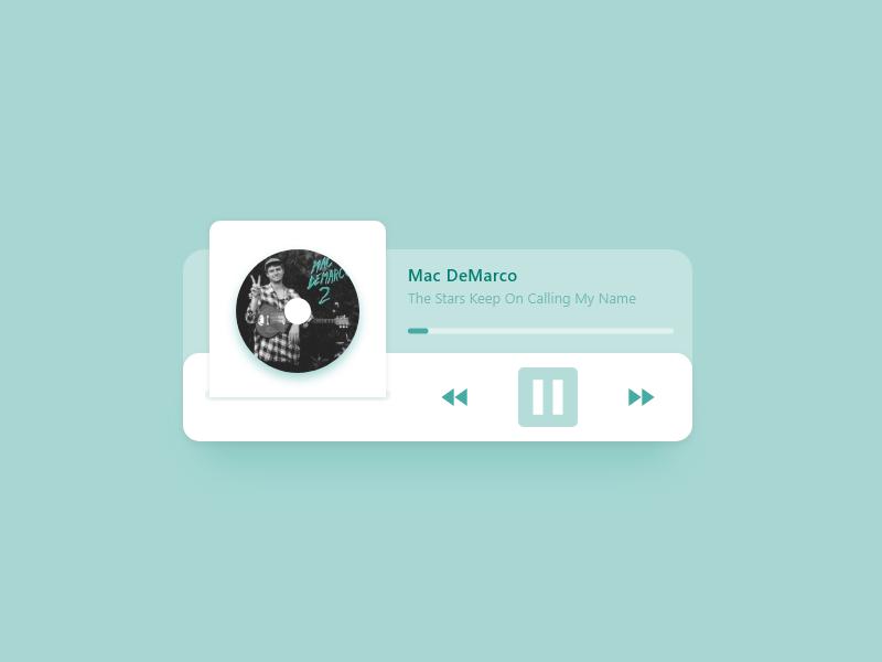 Music Player icon app ux appdesign uidesigner dailyui ui design