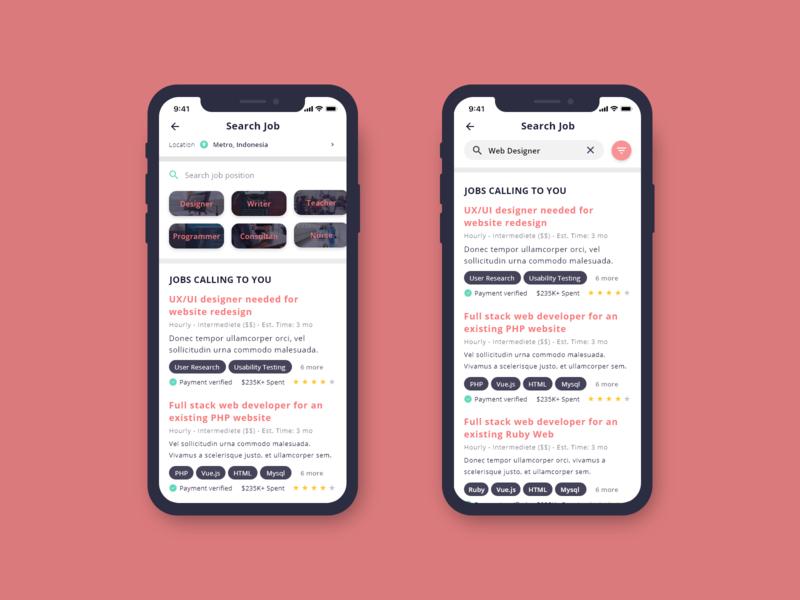 Search header design web app appdesign ux uidesigner dailyui ui design