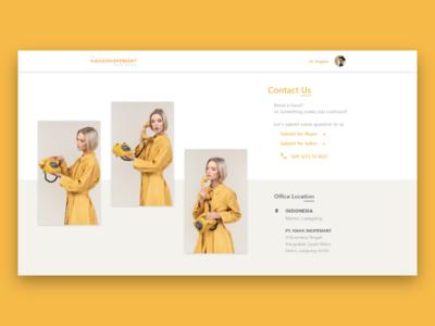 Contact Us website header design web app appdesign ux uidesigner dailyui ui design