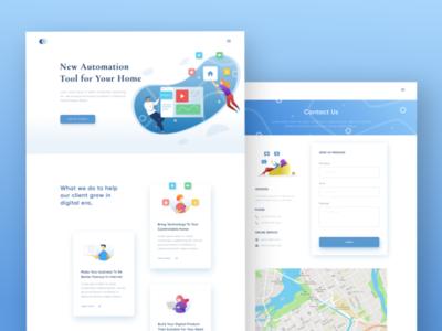 Web Design Exploration layout website header design web ui dailyui design