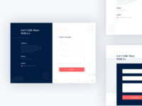 Layout Exploration - Contact Us
