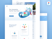 Freebies: Web for Smart Home Installation Agency