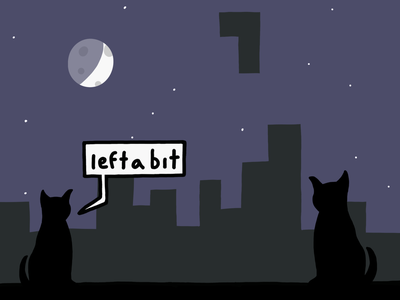 Skyline Tetris procreate illustration comic 2d