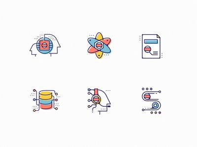 Neural Network icons
