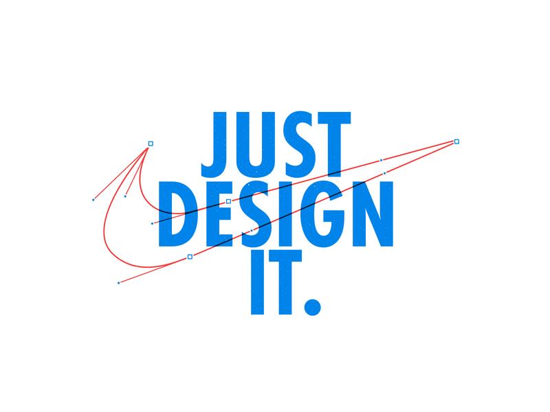 Nike branding brand it logodesign just logo nike typogaphy stroke art design line vector