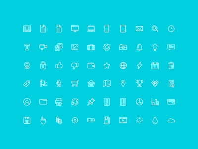 The Nice and Serious UI Icon Set