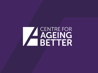 Centre for Ageing Better angle palette centre age society typography type mark logo identity branding brand