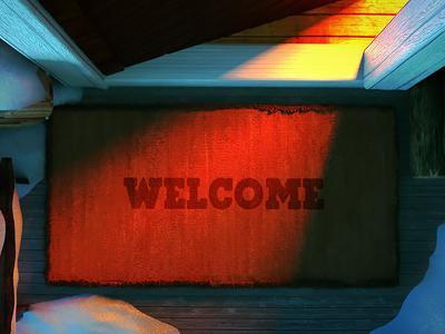 Together for Refugees ben  jerrys doormat animation 3d